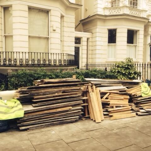builders rubbish London