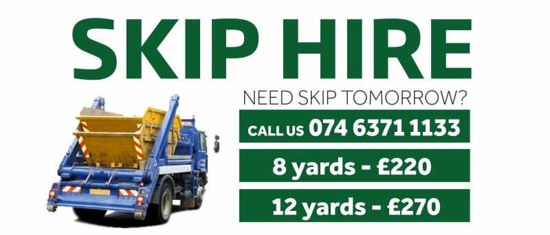 skip hire AJ Rubbish Clearance
