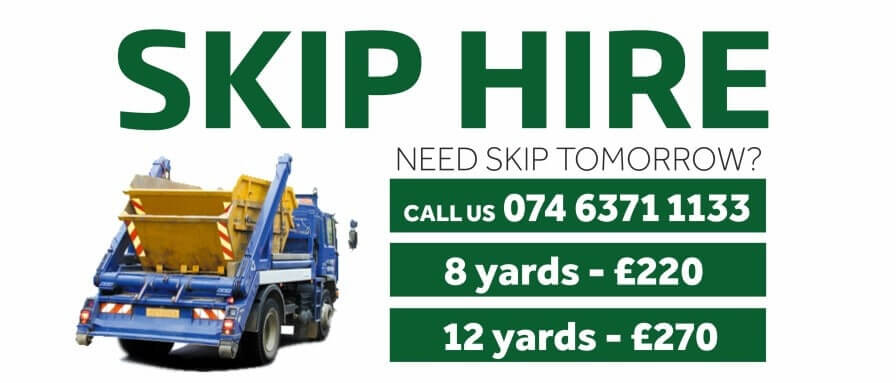 skip hire AJ Rubbish Clearance